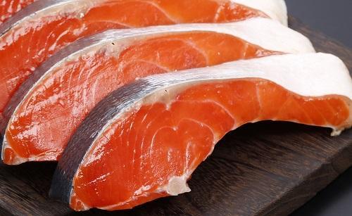 紅鮭 中辛塩(3切)