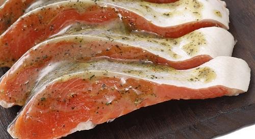紅鮭 バジル(3切)