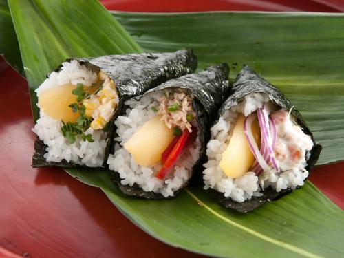 数の子の手巻き寿司